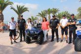 La Policía de San Pedro del Pinatar se une a la lucha contra el cáncer infantil