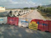 Ahora Murcia pide explicaciones al ayuntamiento por permitir la ocupación de vías públicas para entubamientos de acequias