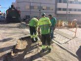 Finalizan las obras de evacuación de aguas pluviales en un tramo de la calle Teniente Pérez Redondo