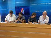 El Ayuntamiento de Molina de Segura firma convenios con la Asociación Ateneo Villa de Molina y la Asociación de Personas Jubiladas y Pensionistas - Intersindical