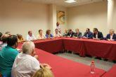 El alcalde agradece y felicita al Secretario de Estado de Infraestructuras y a la presidenta de Adif su generosa sensibilidad con las demandas de afectados por el Corredor Mediterr�neo a su paso por Totana