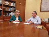 La Alcaldesa de Molina de Segura se reúne con el Presidente de la Confederación Hidrográfica del Segura para impulsar los proyectos pendientes en el municipio