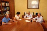 La alcaldesa se reúne con el presidente de la Confederación Hidrográfica del Segura