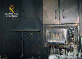 La Guardia Civil detiene al presunto autor del incendio de una vivienda de Santomera