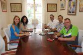 El Ayuntamiento de Alhama establece l�neas de colaboraci�n con el Colegio de Educadores Sociales de la Regi�n