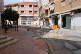 La calle Tom�s Moro queda de doble sentido mientras duren las obras de los Postigos