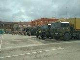 El Gobierno de España incrementa los efectivos y medios de las Fuerzas Armadas destinados a prestar apoyo a los municipios de la Regi�n de Murcia afectados por las inundaciones