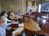 La consejera de Educación se reúne con las Ampas de Lorca, Totana y Lorquí