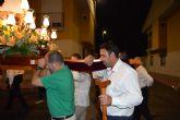 La procesión de la Virgen del Pilar clausura las fiestas en La Florida torreña