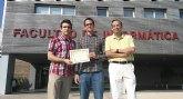 Dos jóvenes investigadores de la UMU se hacen con el primer puesto en concurso de Ingeniería de Control