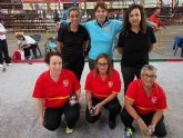 Las chicas de 'La Salceda', bronce en tripletas en el torneo internacional de petanca de Torrelavega
