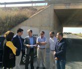 La Dirección General de Carreteras mejora la seguridad vial en la carretera de Pozo Aledo a La Puebla