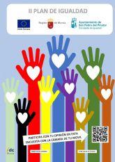 Participa en la elaboración del II Plan de Igualdad entre Mujeres y Hombres de San Pedro del Pinatar
