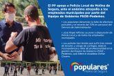 El PP apoya a Policía Local de Molina de Segura, ante el enésimo atropello a los empleados municipales por parte del Equipo de Gobierno PSOE-Podemos