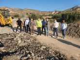 Fomento mejora la carretera de acceso a la pedanía fortunera de Caprés