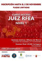 Ya abierta convocatoria seminario y examen de acceso a juez de atletismo, categoría RFEA Nivel 1 - 2021