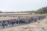 Centenares de personas acompañan a la Pur�sima en su traslado de Bolnuevo a Mazarr�n