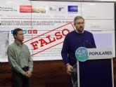 El PP denuncia que la alcaldesa del Campos del Río 'engaña' a los vecinos al asegurar que dispone de los terrenos para ampliar la   carretera con Alguazas