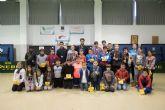 Más de 50 niños muestran su destreza sobre el tablero en la fase local de ajedrez de Deporte Escolar