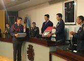 El alcalde declaró 'vecinos de San Javier' a los nuevos alumnos de la AGA en su tradicional visita al Ayuntamiento