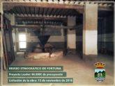Se ha realizado el anuncio de licitación las obras para la construcción del Museo Etnográfico de Fortuna