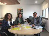El Ayuntamiento de Fuente Álamo se reúne con el Instituto de Fomento para tratar su participación en la Red Puntopyme