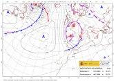 Una profunda borrasca provocar� vientos fuertes o muy fuertes en el sureste