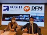 DFM Rent a Car y COGITI firman un acuerdo de colaboración para impulsar el tejido empresarial