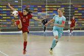 La torreña Cristina Pérez, campeona del 'IV Naciones' de fútbol sala con la selección española