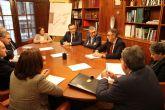 El secretario de Estado de Medio Ambiente se re�ne con la direcci�n de la Confederaci�n Hidrogr�fica del Segura
