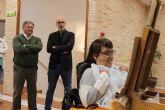 Los Alcázares acoge la exposición de la Asociación de Pintores con la Boca y con el Pie de todo el mundo