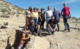 ASBA e Integral realizan labores de limpieza en el yacimiento arqueol�gico de Tira del Lienzo