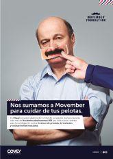 Covey Alquiler recauda un total de 2.500€ para la Fundación 'Movember'