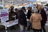 El servicio municipal de voluntariado sale a la calle para explicar su importante labor