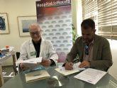 Convenio de colaboración entre el Hospital de Molina y Fundación Ambulancia del Último Deseo