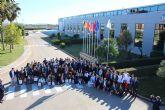 Estudiantes de Alhama comparten su vocaci�n con el ministro Pedro Duque