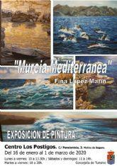 El Centro Los Postigos de Molina de Segura acoge la exposición Murcia Mediterránea, de Fina López Marín, del 16 de enero al 1 de marzo