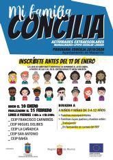 Hasta el 17 de enero se encuentra abierta la inscripción para la campaña 'mi familia concilia'