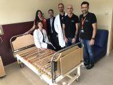 El Hospital de Molina dona mobiliario sanitario a Cruz Roja Región de Murcia