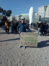 Unión histórica de todos los sectores de autónomos para convocar un PARO NACIONAL el 24 de Febrero