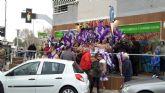 El temporal obliga a suspender desfile carnaval Santiago de la Ribera después de comenzado