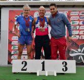 El atleta torreño Ángel Salinas, tricampeón regional de veteranos