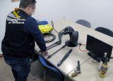 La Guardia Civil esclarece una treintena de robos en vehículos, viviendas y comercios de Los Alcázares