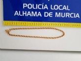 La Polic�a Local de Alhama detiene a un grupo organizado de nacionalidad extranjera reclamado judicialmente desde Cataluña