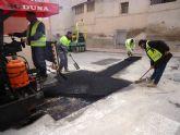 Finalizan las obras de renovaci�n de la red y acometidas de alcantarillado en el Callej�n de la Calle Valle del Guadalent�n y la v�a Extremadura