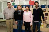 Una mazarronera ganadora del concurso regional 'Carta a una militar española'
