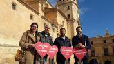 El Ayuntamiento y Hostelor ponen en marcha la campaña de concienciación ciudadana 'Lorca limpia te enamora'