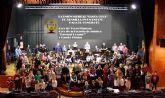 Concierto de la Unión Musical 'Santa Cruz' de Abanilla en el auditorio 'Víctor Villegas' de Murcia