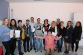 Concluyen dos cursos que permitirán a desempleados de Puerto Lumbreras acceder a certificados de profesionalidad