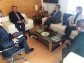 El equipo de Gobierno se reúne con el Colegio de Arquitectos de Murcia